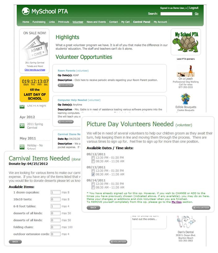 by creating volunteer categories your volunteers will be able to enter their hours against those specific areas as the administrator you will be able to