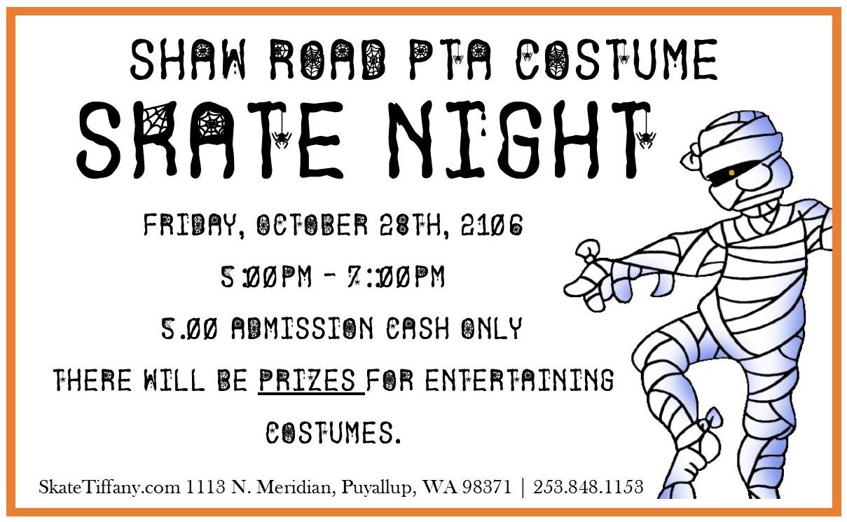 Costume Skate Night