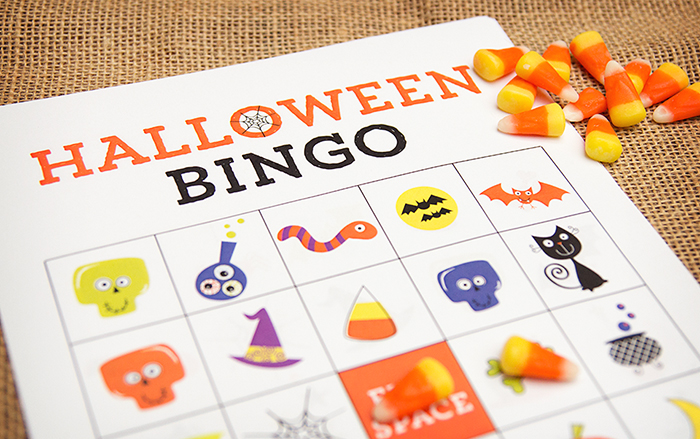 photo about 25 Printable Halloween Bingo Cards identified as Park Springs PTO - Halloween Bingo 2019