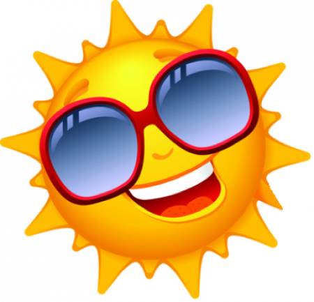 Sun with Shades on
