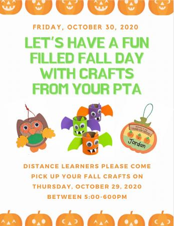 Thursday is Halloween Craft Day!