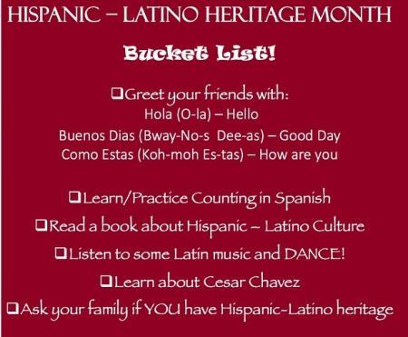 Hispanic Heritage Month 2
