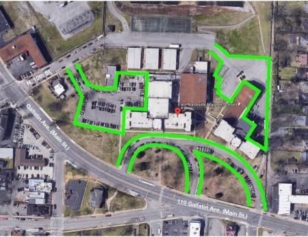 East High Parking Map