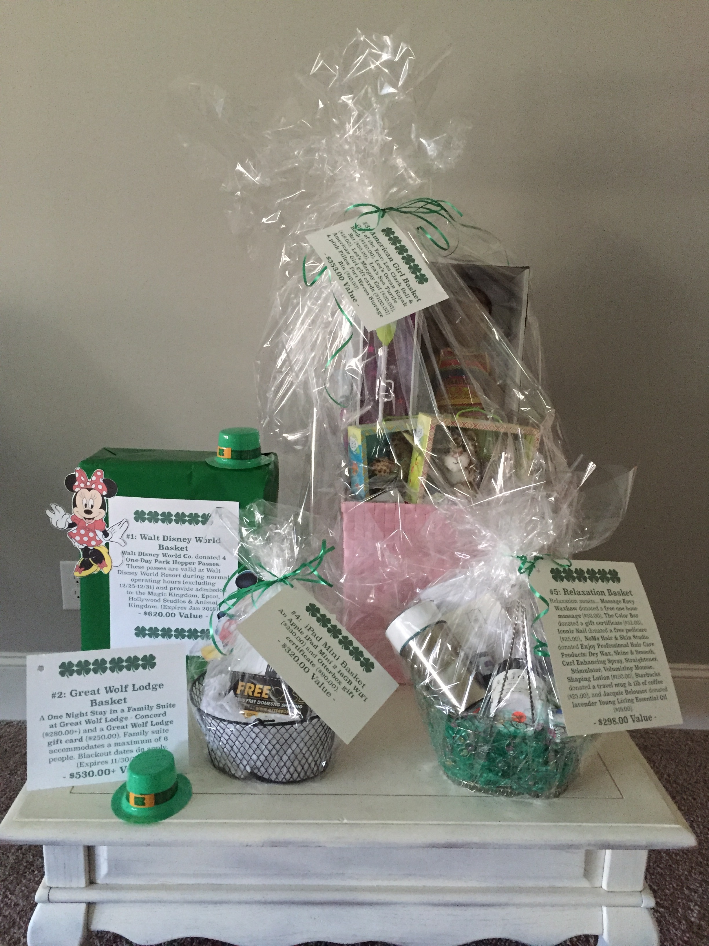 Our St. Pattyu0027s Baskets are here! & Gift Baskets Delivered To Disney World Resorts - BestHolidayDeals.CO