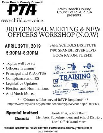 Palm Beach County PTA - News and Events